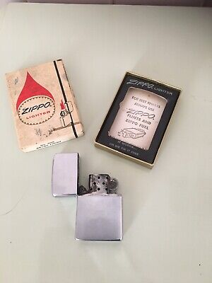 Vintage Zippo Lighter Boxed