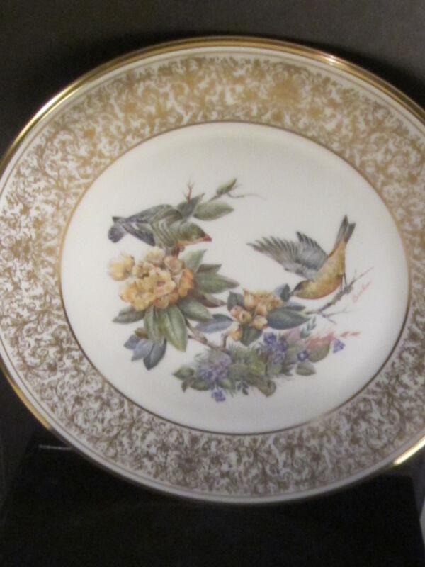 "Boehm Lenox 1971 GOLDFINCH  Bird 10 1/2""  Ltd Ed plate MIB"