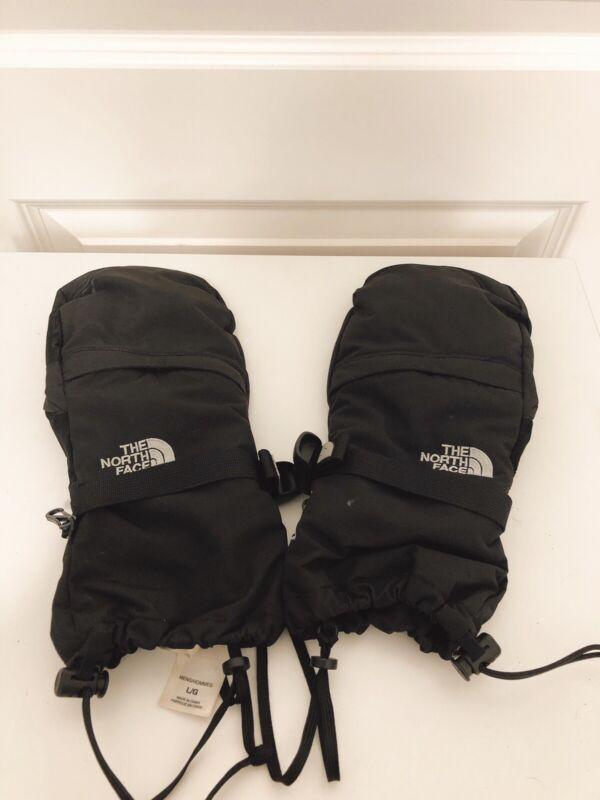 The North Face Mitt Ski / Snow Mitten Mens Large Gloves Black