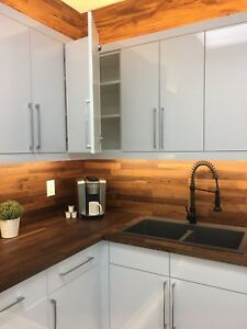 Contemporary Kitchen Cabinet Warehouse Direct Sale
