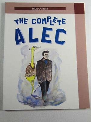 The Complete Alec  Eddie Campbell  Eclipse Books 1990  Tpb Graphic Novel Vf Nm