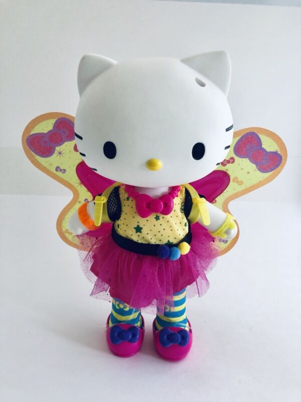Sanrio Blip Toys Hello Kitty Butterfly Doll Light UP Wings Poseable Target