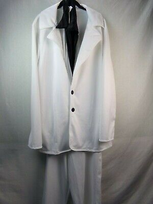 Saturday Night Fever White Suit (California Costumes Disco Saturday Night Fever White Suit Mens Large 42 - 44)