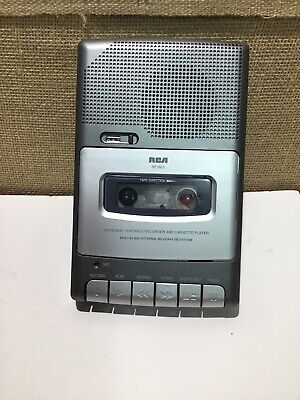 RCA RP3503A Personal Portable Cassette Recorder Built in Microphone