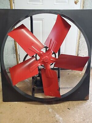 Dayton 3cc74 Exhaust Fan With 3n017h 3ph Industrial Motor