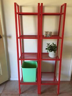 4 Tier Ladder Shelf Book Case