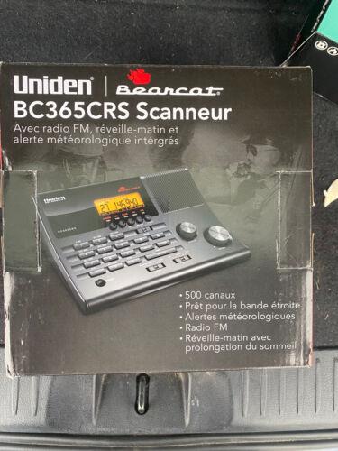 CLOCK/ FM RADIO SCANNER 500