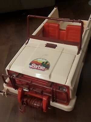 1973 Western Barbie Jeep for Horse Trailer Barbie Horse USA JEEP w/ FRONT WINCH