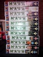 MASH DVD's Season one - eleven.  Each set has 3 dvds Sunshine West Brimbank Area Preview
