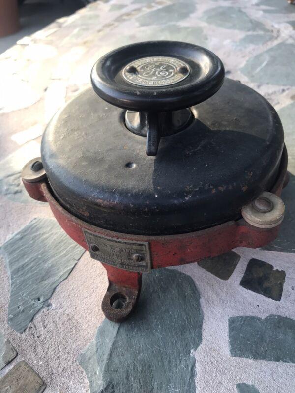 Antique General Electric-Industrial Rheostat Speed Control Steampunk