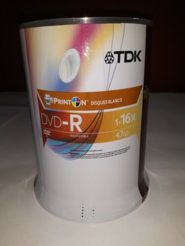 dvd r print on white discs 100