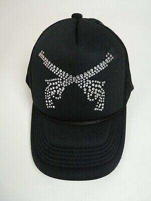 Gangster Gun Netz Basecap Mütze Baseball Cap Kappe schwarz