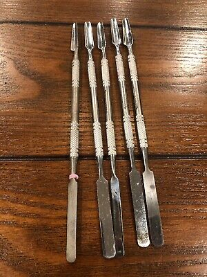 Henry Schein Cement Spatula Double End Lot Of 5