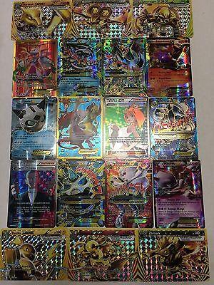 POKEMON CARDS: 10 CARD LOT GUARANTEED 1 EX! HOLO RARE, FULL ART, MEGA