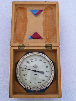 Schiffsbarometer / Grubenanroidbarometer von R. Fuess Berlin-Steglitz um 1910-18