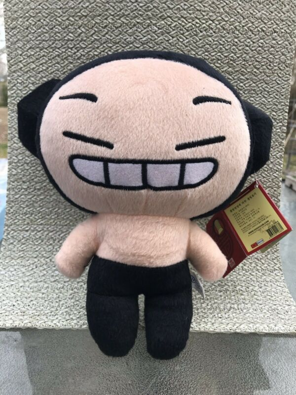 """Pucca Plush Asian Doll RARE Stuffed 9"""" Girl Toy Animation New with Tags"""