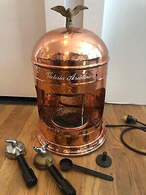 Victoria Arduino Coffee Espresso Machine Copper Hammered Electric Eagle Grinder