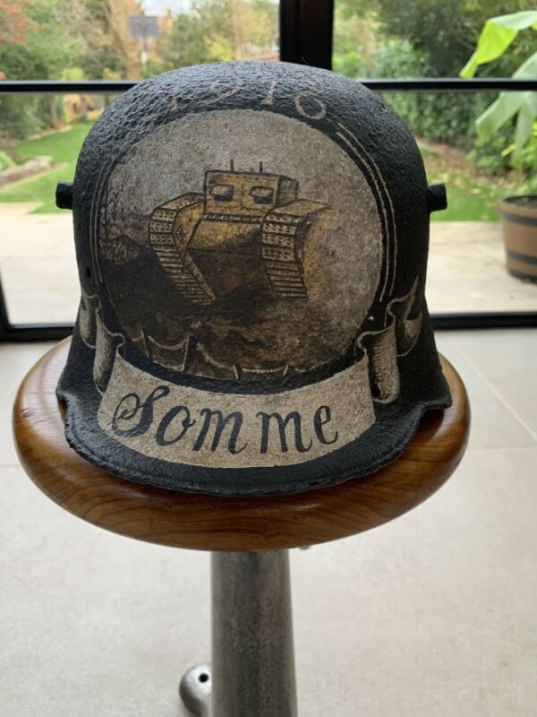 Original German WW1 Helmet - M16 Stahlhelm