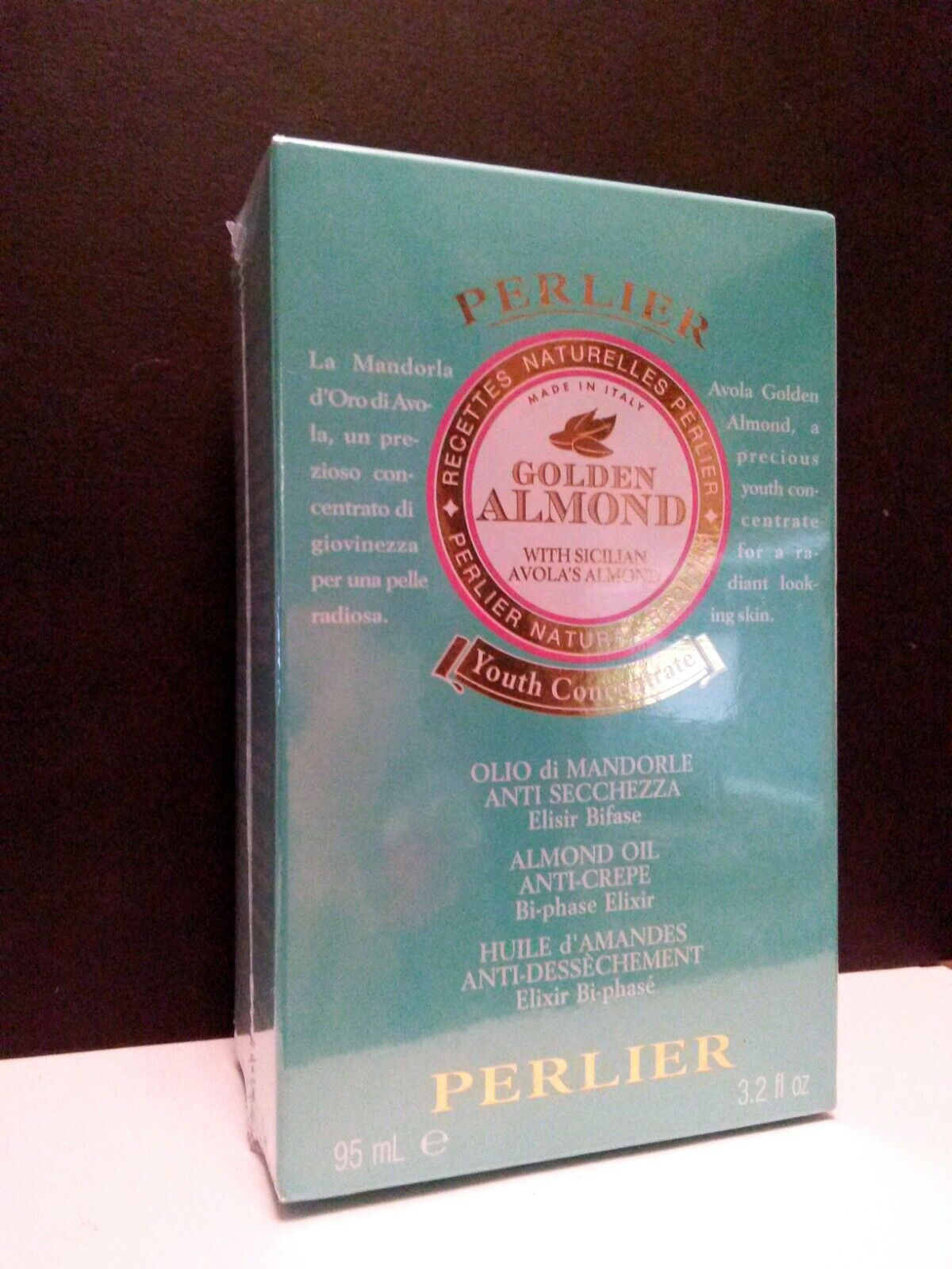 Perlier Golden Avola Almond Body Oil Youth Concentrate