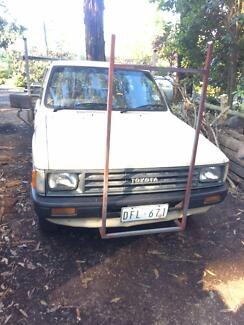 Toyota Hilux 1987 model Dual Fuel