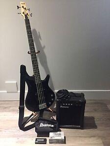 Ibanez Starter Bass Package - excellent starter bass kit