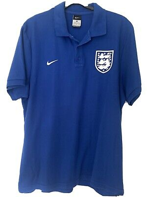 Nike England Polo Shirt - Mens Large