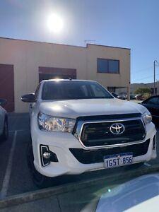 2019 Toyota Hilux Sr (4x4) 6 Sp Automatic Double Cab P/up