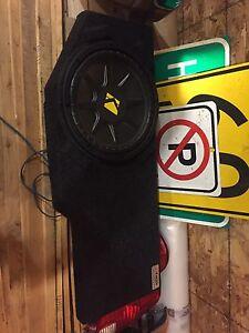 02-16 Dodge Ram sub/box for under rear seat