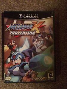 Megaman X Collection GameCube Game