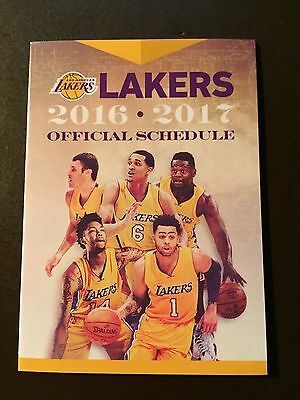 Los Angeles Lakers 2016 17 Nba Pocket Schedule   Lakers Com