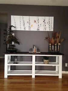Beautiful spruce Handmade Console Tables
