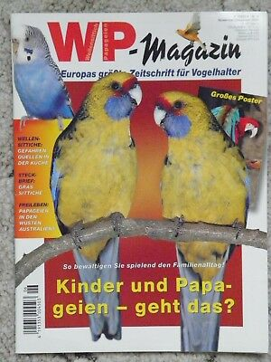 WP-Magazin 11/12/2008 Wellensittiche Papageien