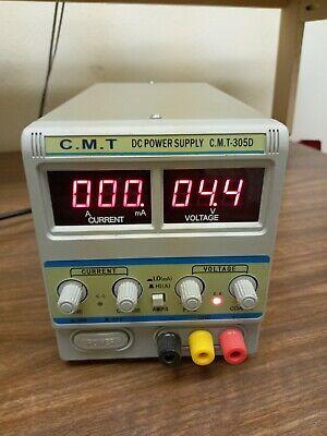 C.m.t Adjustable 110v Ac- 25v Dc Power Supply Cmt-305d