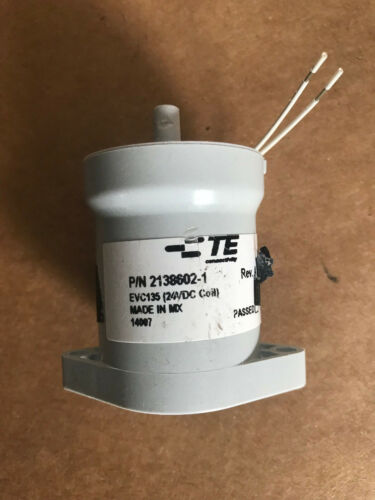 #WWR15 Tyco RELAY Contactor PN:2138602-1 Rev. A  Coil: 24VDC