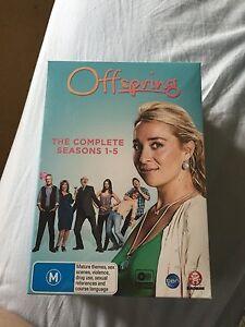 Offspring box set seasons 1-5 Dulwich Hill Marrickville Area Preview