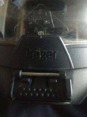 Drager Fps7000 Sentinel 4500psi Scba Pack Frame Mask Medium With Hud