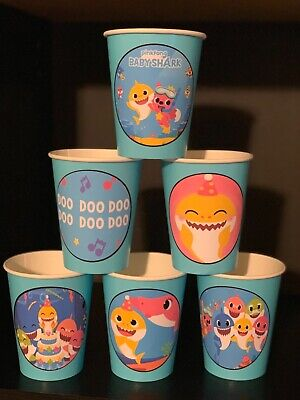 Baby Shark Doo Doo Doo Birthday Party Pack for 12 Cups & - Party Pack
