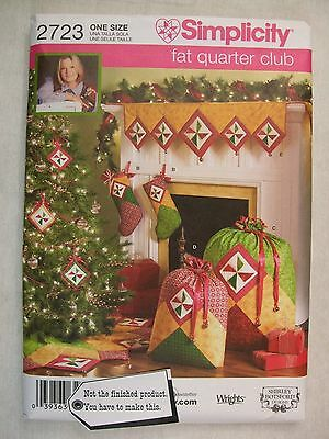 Christmas Decorations Sewing Pattern 2723 S See Full Listing Info