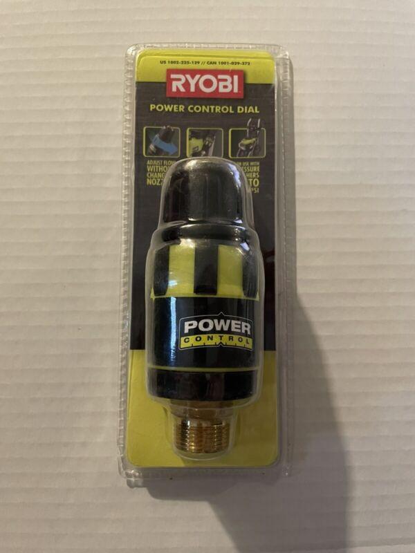 New Ryobi Pressure Washer Flow Control Valve Nozzle Tip Adjustable Power Dial