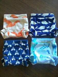 Fleece covers for MCN modern cloth nappy Georgetown Newcastle Area Preview