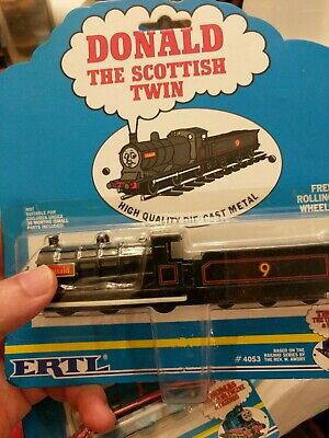 ERTL Thomas the Tank Engine & Friends #4053 Donald Scottish - NEW, 1992 Die-cast