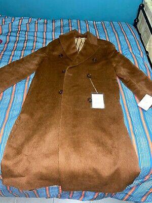 Acne Studios caramel wool long coat women