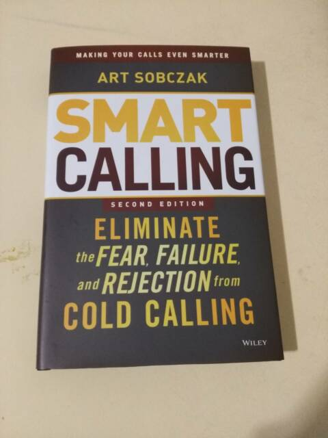 Smart Calling Great Cold Calling Book For Sales Textbooks