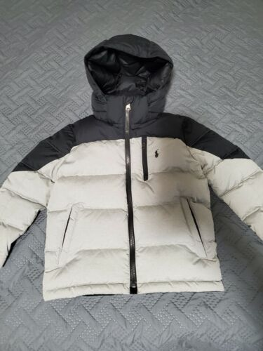 Polo Ralph Lauren Toddler Coat. 5t. Black and Grey. Perfect Condition.