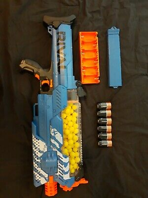 Nerf Rival Nemesis Mxvii-10k Blue - 100x High-impact Rounds