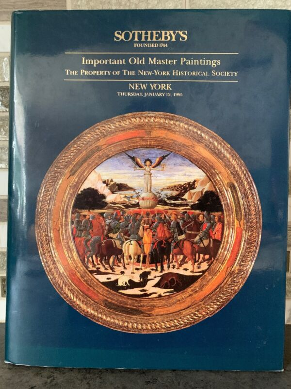 Sotheby's Important Paintings Of The New York Historical Society 1995 Auction NY