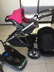 STEELCRAFT STRIDER PLUS INFANT CARRIER AND STROLLER SET Southport Gold Coast City Preview
