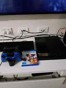 PS4 500gb console with 2 controllers and game Herston Brisbane North East Preview