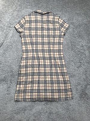 Girls Burberry Shirt Dress Age 10