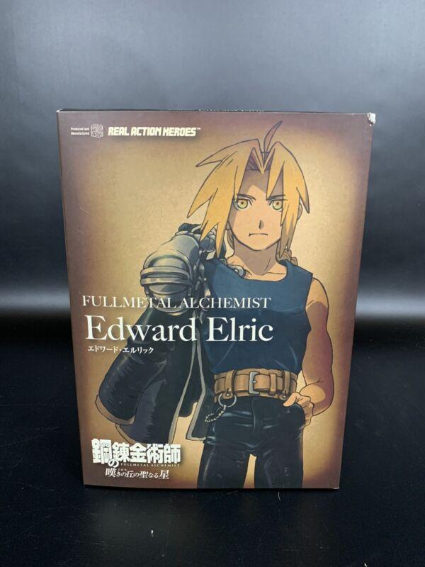 NIB Real Action Heroes Fullmetal Alchemist Edward Elric